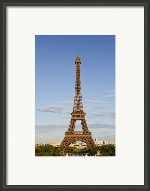 Eiffel Tower Framed Print By Melanie Viola