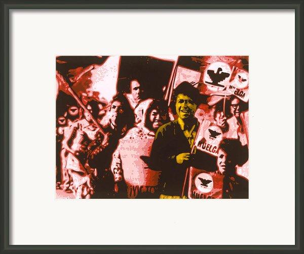El Hombre De Oro Framed Print By Roberto Valdes Sanchez