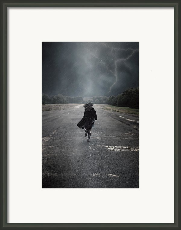 Escape Framed Print By Joana Kruse