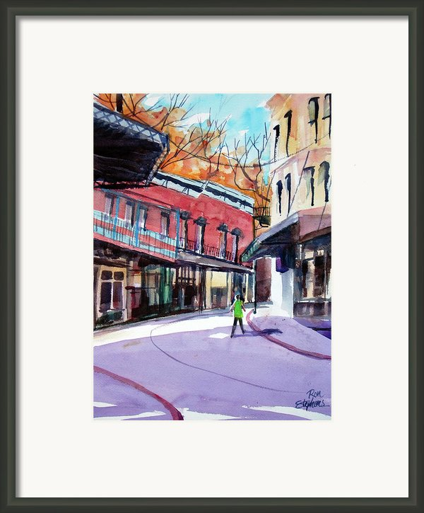 Eureka Springs Ak 4 Framed Print By Ron Stephens