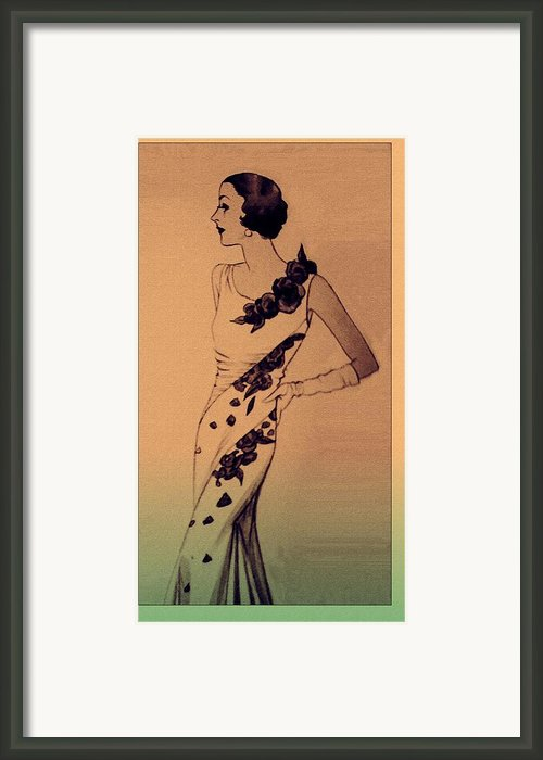 Evening Elegance Framed Print By Susan  Epps Oliver