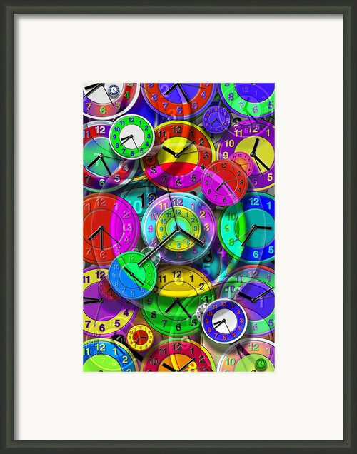 Faces Of Time 1 Framed Print By Mike Mcglothlen