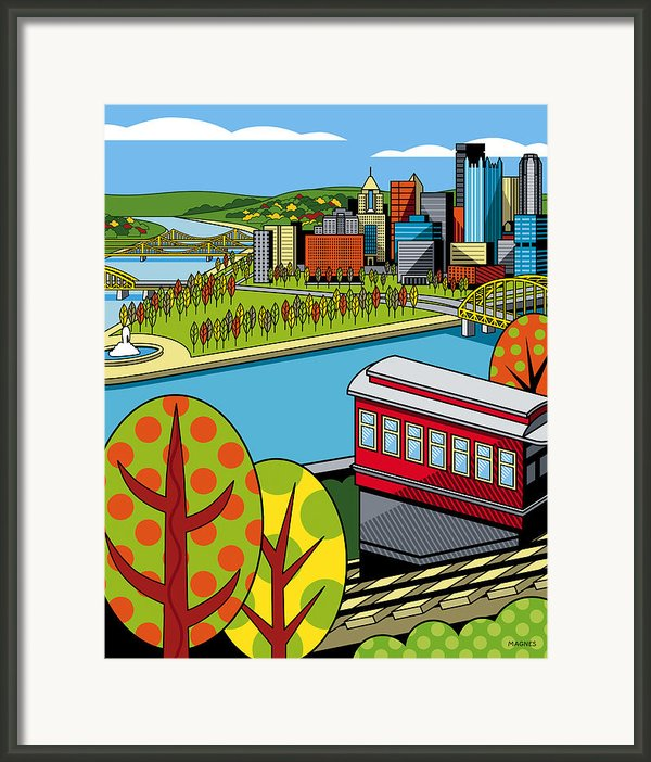 Fall From Above Ii Framed Print By Ron Magnes