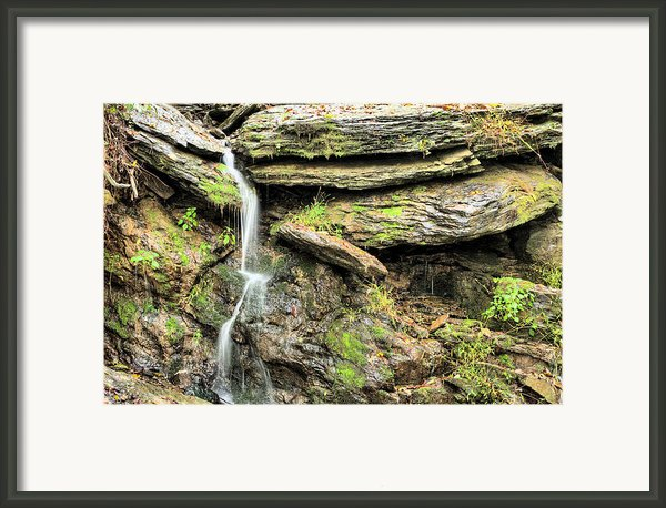 Falling Waters Framed Print By Jc Findley