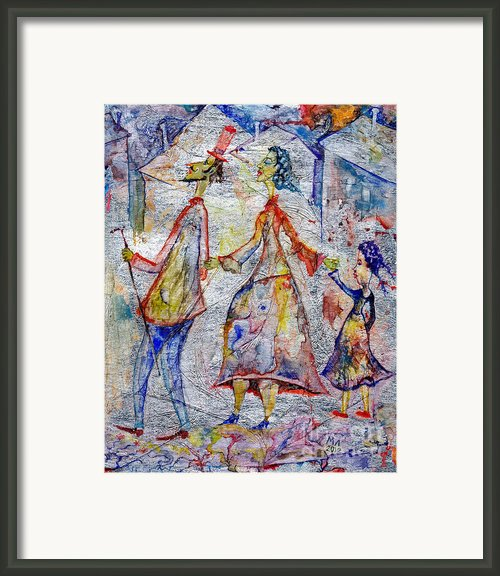 Family Framed Print By Milen Litchkov