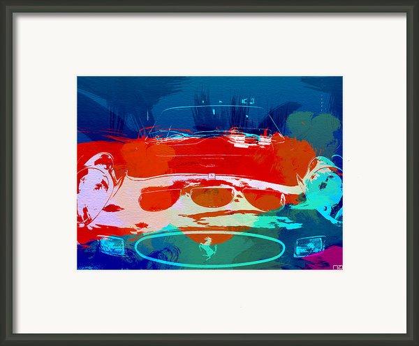 Ferrari Gto Framed Print By Naxart Studio