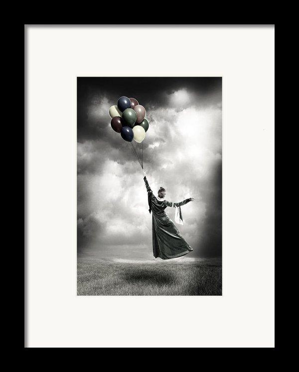 Floating Framed Print By Joana Kruse