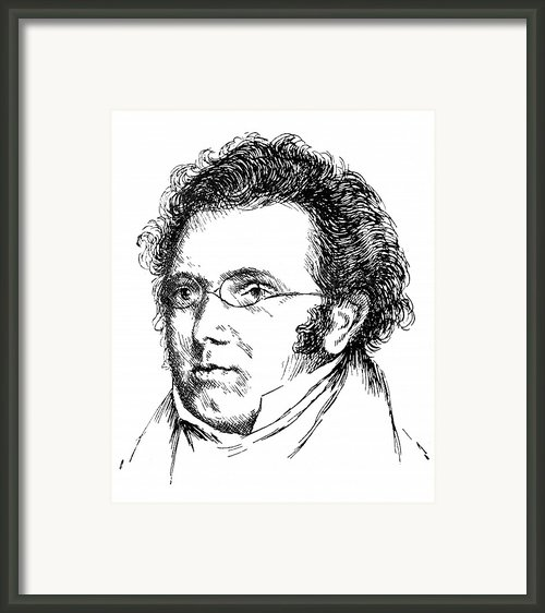 Franz Schubert (1797-1828) Framed Print By Granger