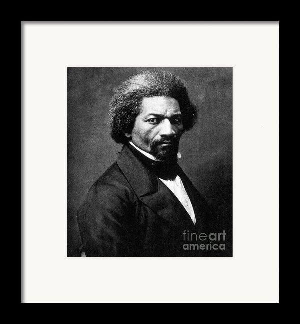 Frederick Douglass Framed Print By Granger