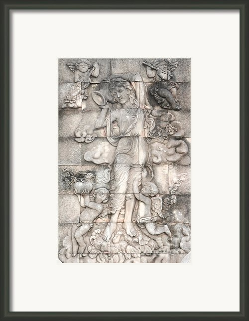 Frescoes Of Women In Mythology Framed Print By Phalakon Jaisangat