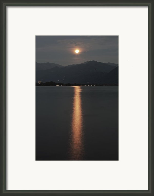 Full Moon Framed Print By Joana Kruse