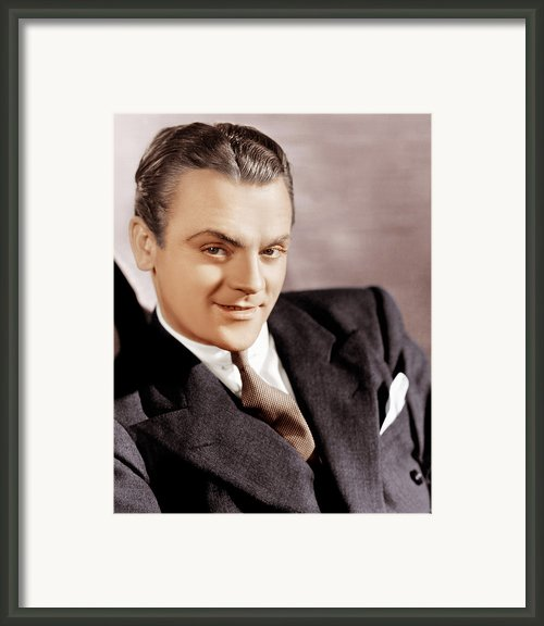 G-men, James Cagney, 1935 Framed Print By Everett