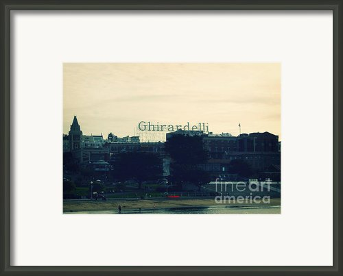 Ghirardelli Square Framed Print By Linda Woods