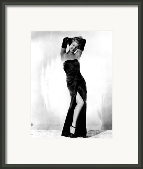 Gilda, Rita Hayworth, 1946 Framed Print By Everett