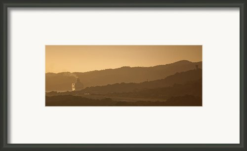 Golden Framed Print By Ryan Heffron