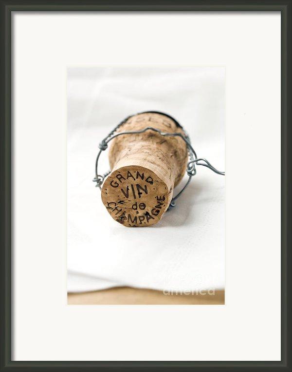Grand Vin De Champagne Framed Print By Frank Tschakert