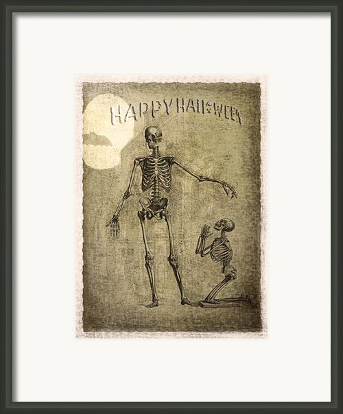 Happy Halloween Framed Print By Jeff Burgess