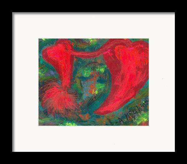 Have Hope In Your Heart Framed Print By Annette Mcelhiney