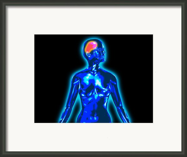 Headache Framed Print By Christian Darkin