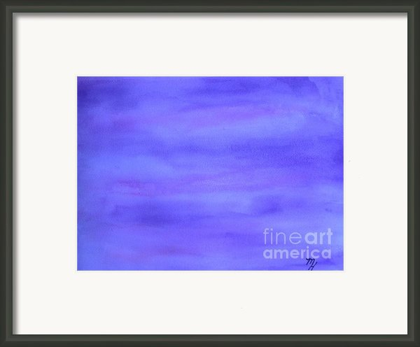 Heavenly Hues Framed Print By Marsha Heiken