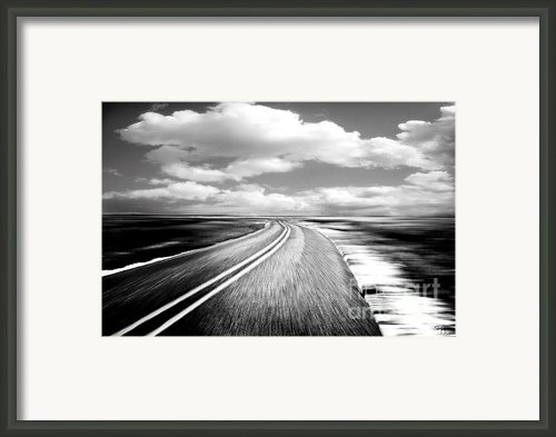 Highway Run Framed Print By Scott Pellegrin