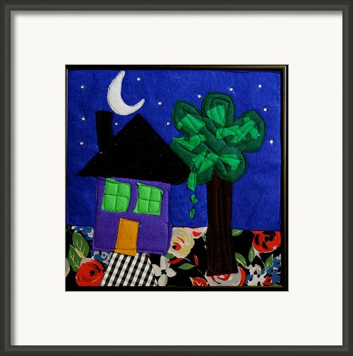 Home Framed Print By Ghazel Rashid