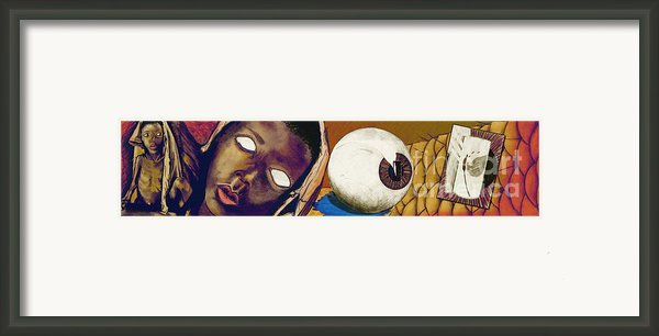 Hunger Framed Print By Laura Brightwood