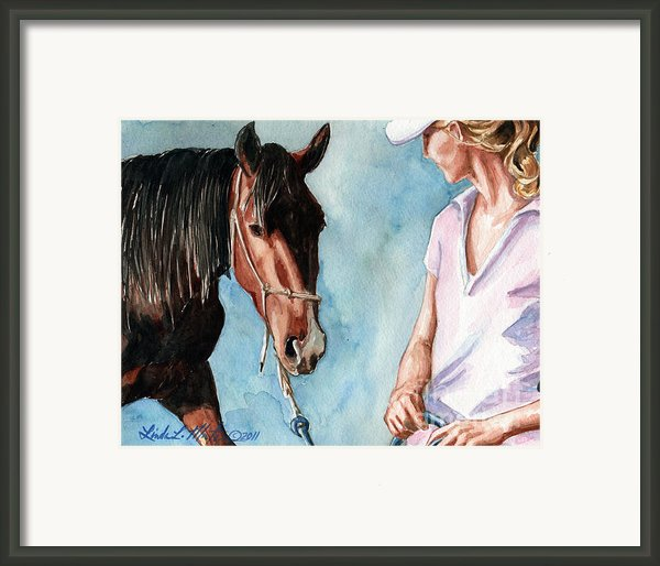 I Will Follow You Framed Print By Linda L Martin