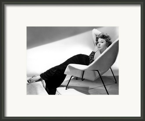 Ill Cry Tomorrow, Susan Hayward, 1955 Framed Print By Everett