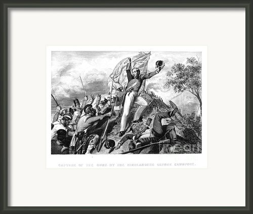 India: Sepoy Rebellion, 1857 Framed Print By Granger