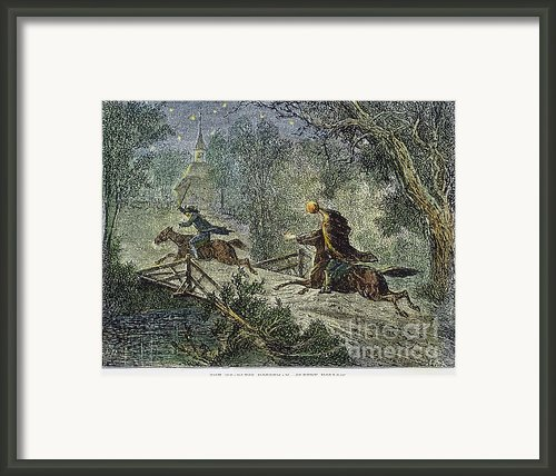Irving: Sleepy Hollow Framed Print By Granger