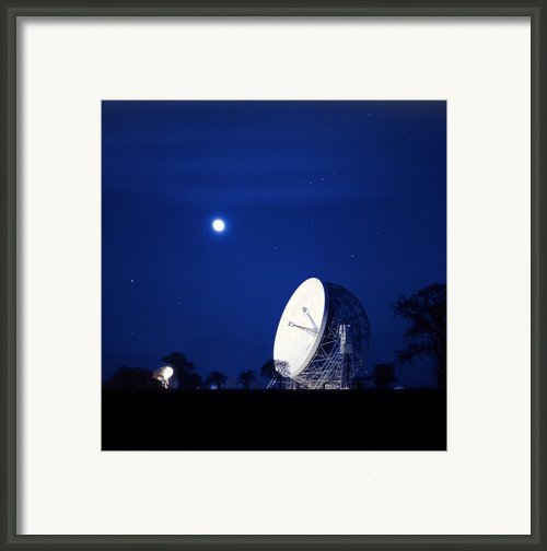 Jodrell Bank Observatory Framed Print By Richard Kail