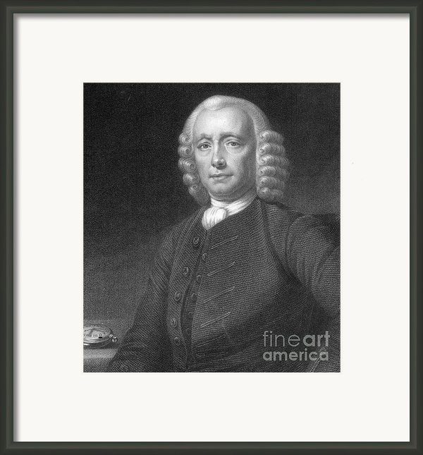 John Harrison, English Inventor Framed Print By Photo Researchers