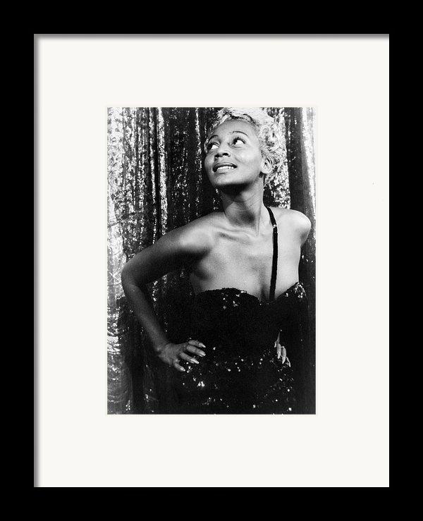 Joyce Bryant, 1953 Framed Print By Granger