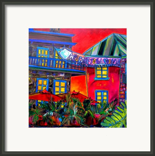 La Villita Entrance Framed Print By Patti Schermerhorn