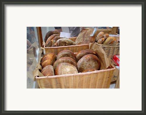 Loaves Framed Print By Brenda Pressnall
