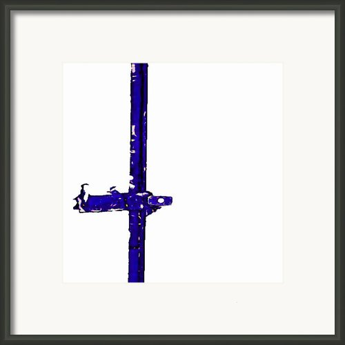 Long Lock In Blue Framed Print By J Erik Leiff