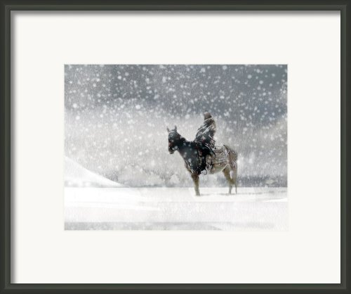 Longest Winter Framed Print By Paul Sachtleben