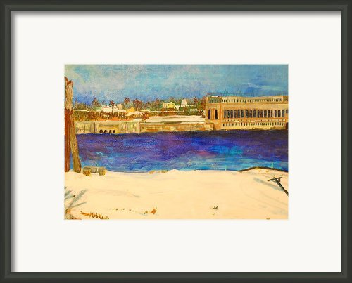 Looking To The Promised Land Framed Print By Jame Hayes