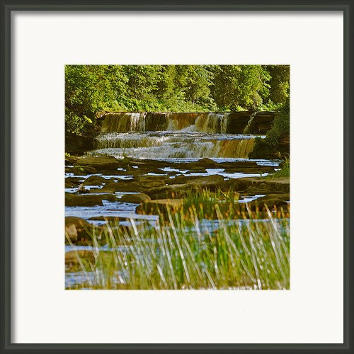 Lower Tahquamenon Falls 6128 Framed Print By Michael Peychich
