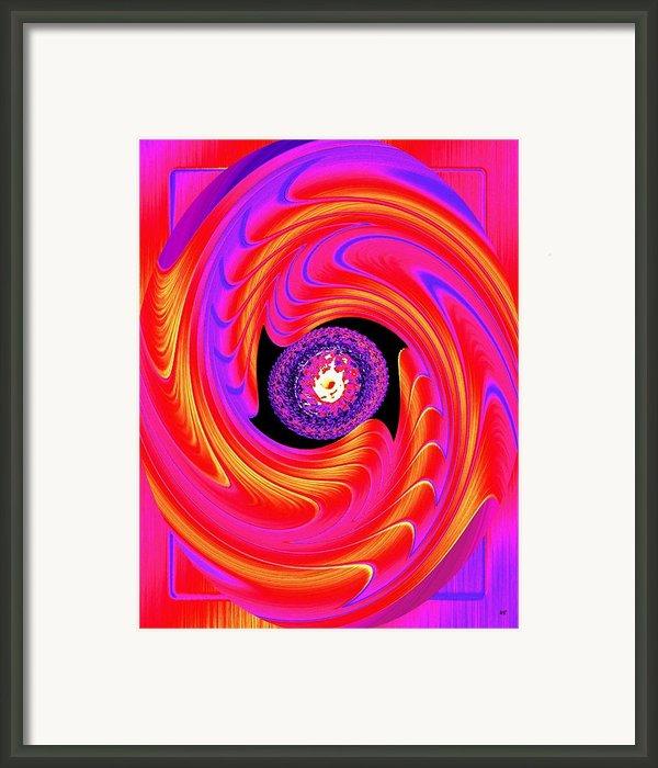 Luminous Energy 8 Framed Print By Will Borden