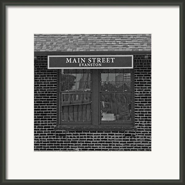 Main Street Station Framed Print By Michael Flood