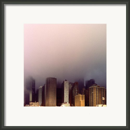 Manhattan Framed Print By Eli Maier