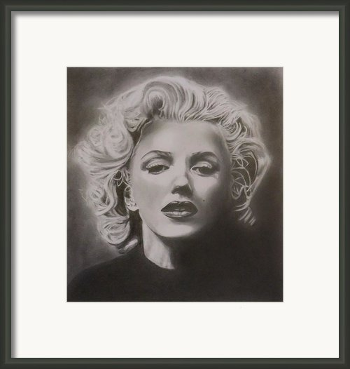 Marilyn Monroe Framed Print By Mike Oconnell
