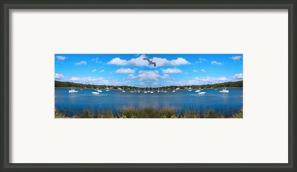 Marina Framed Print By Lourry Legarde
