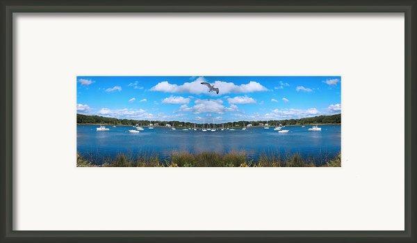 Marina Framed Print By Lourry Legarde