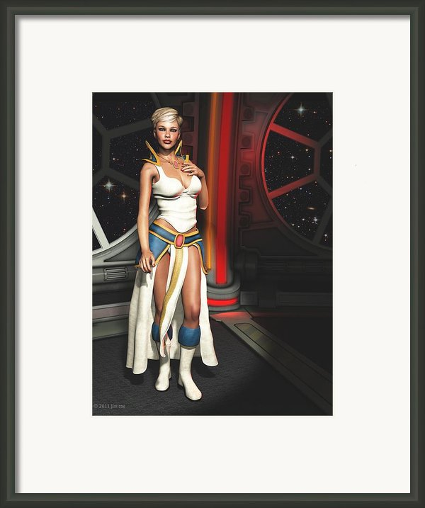 Meet Vani Framed Print By Jim Coe