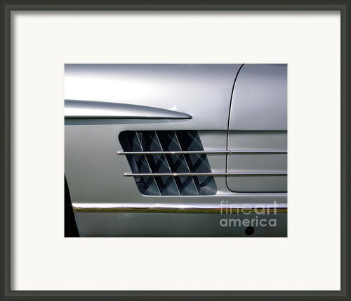 Mercedes 300 Sl  Framed Print By Peter Piatt