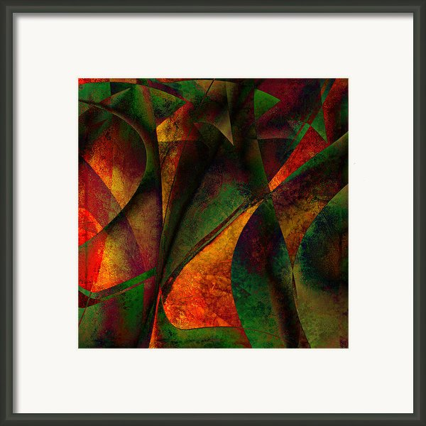 Merging Framed Print By Amanda Moore
