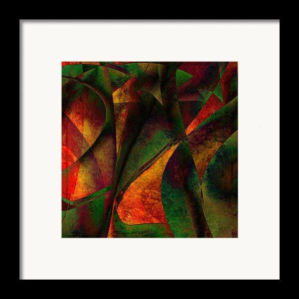 Merging Framed Print By Amanda Moore